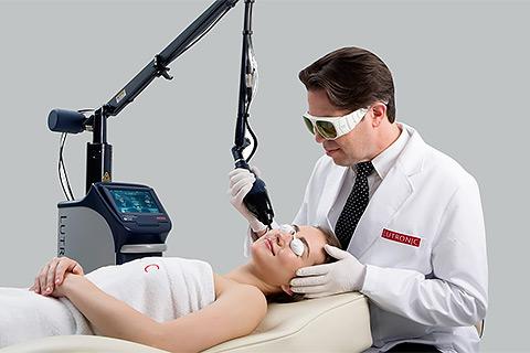 Лечение рубцов, глубоких морщин в клинике лазерной косметологии Л-Клиник