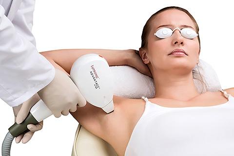 Лазерная эпиляция - удаление волос навсегда в Л-Клиник
